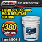 Fiberlock IAQ 6000 Mold Resistant Coating - White