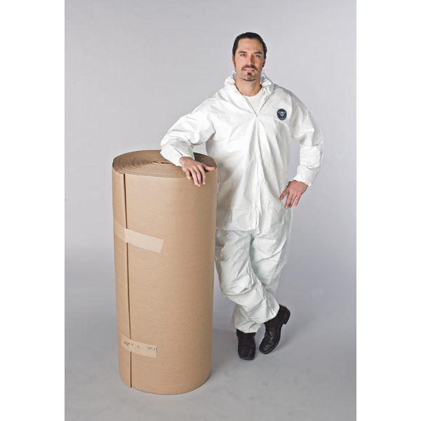 Single Faced Corrugated Cardboard 48in x250ft  12 Rolls/Case