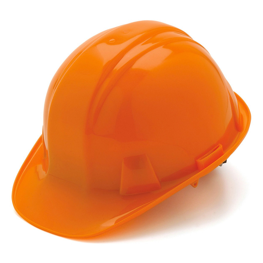 Pyramex Custom Imprint Hard Hat - Orange - Inline